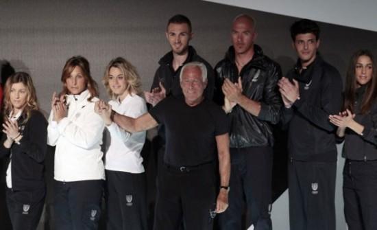 Veja o kit olímpico que Giorgio Armani criou pros esportistas da Itália!