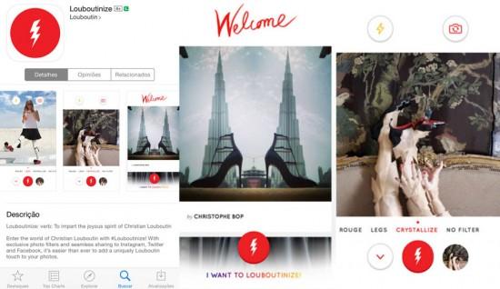 Louboutinize: Christian Louboutin acaba de lançar aplicativo de edição de fotos - vem ver mais aqui!