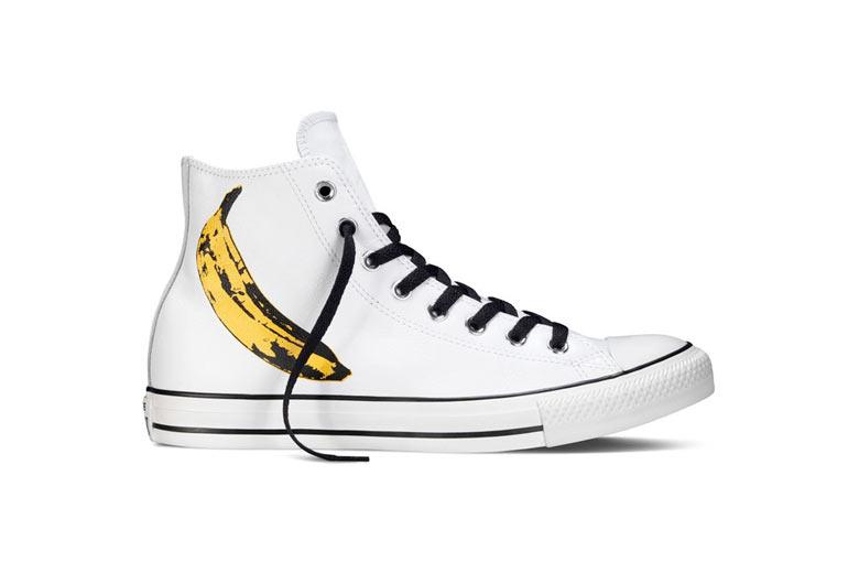 Bananas Andy Warhol Pra Converse