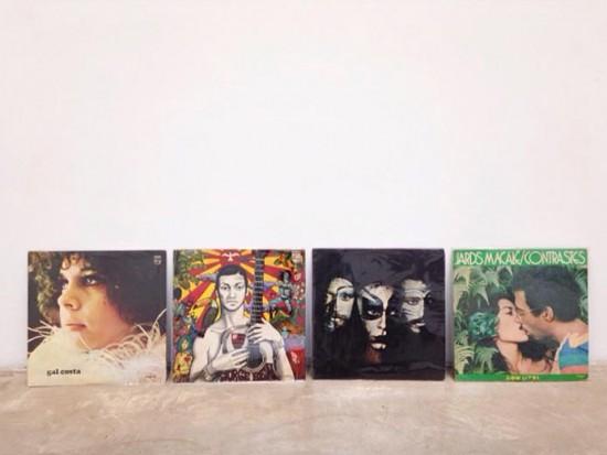 """""""Introdução à História da Arte Brasileira 1960/90"""", de Bruno Faria, reúne 160 discos e propõe que o público tanto admire as capas como..."""