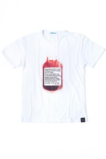 Sangue na veia pra uma das camisetas da 40076