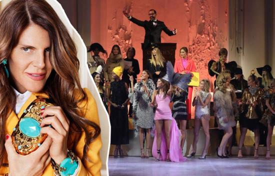 Anna causou durante a Semana de Moda de Milão com o evento - vem ver mais!