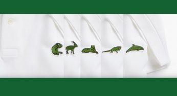 7229cb301cf2b Lacoste lança coleção pra ajudar animais em extinção!