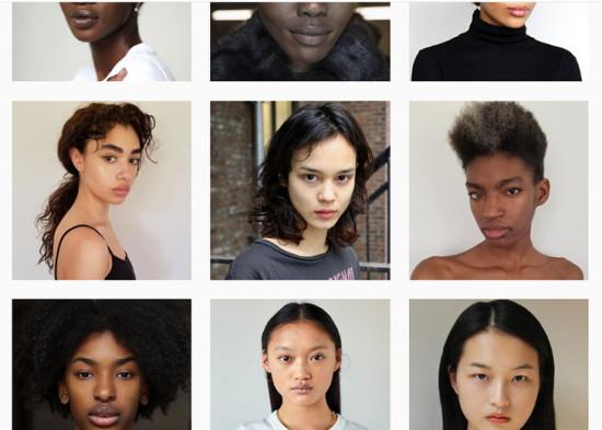 Um perfil celebra modelos não-brancas - vem ver mais!