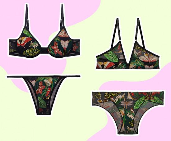 A natureza inspirou as estampas de Adriana Barra na colab com a Verve - clica pra ver mais!