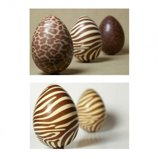 Animal print: a Sweet Brazil lançou esses ovos de oncinha e zebrinha (500g cada por R$ 180). Vem ver mais ovos fashionistas!