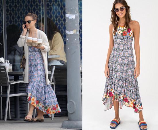 O vestido foi adquirido pela própria atriz durante sua passagem pelo Rio de Janeiro, onde comemorou a chegada o réveillon - clica pra ver mais!