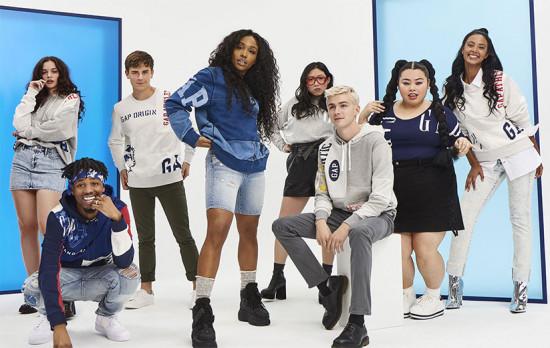Campanha da Gap com a cantora SZA. A marca está de olho na água que ela gasta nos seus processos produtivos! Boa!
