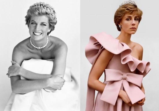 A modelo britânica está muito parecida com a mãe dos príncipes William e Harry, né? Vem ver mais!
