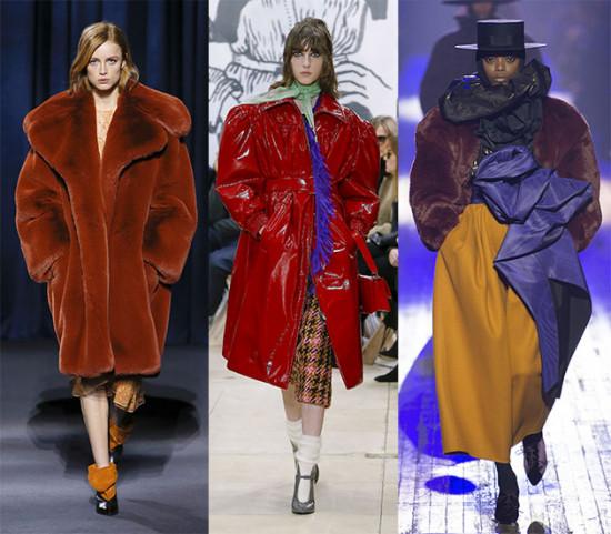 Dá pra encostar várias cabecinhas nesses ombros! Da esq. pra dir.: Givenchy, Miu Miu e Marc Jacobs. Vem ver mais na galeria!