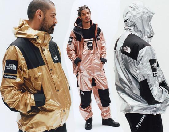 Vem ver mais peças da parceria entre a gigante do streetwear Supreme e a The North Face!