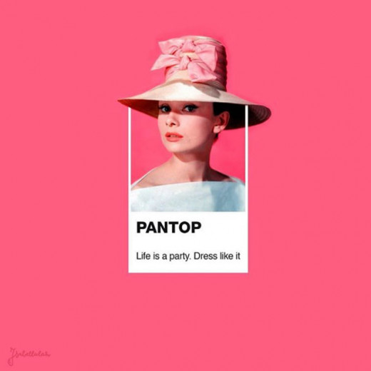 E a cor do ano é... rosa Audrey Hepburn?