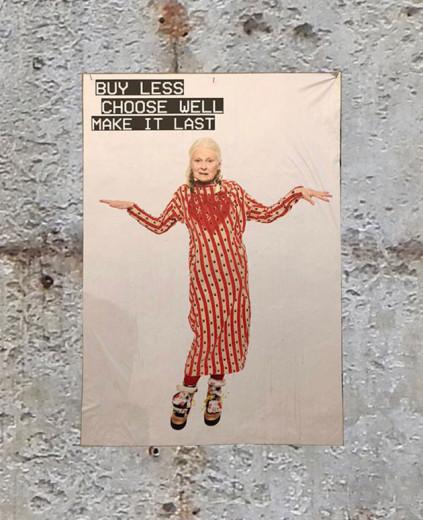 """""""Compre menos, escolha bem, faça durar"""" - mesmo sendo estilista, Vivienne Westwood levanta a bandeira de um consumo mais responsável. Veja mais aqui na galeria!"""