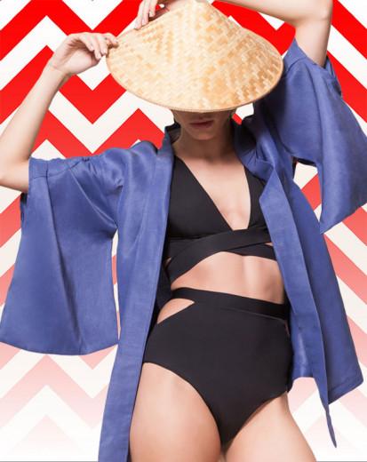 Vem aqui ver várias opções de quimono! Esse aqui é da Keymono Project por R$ 895
