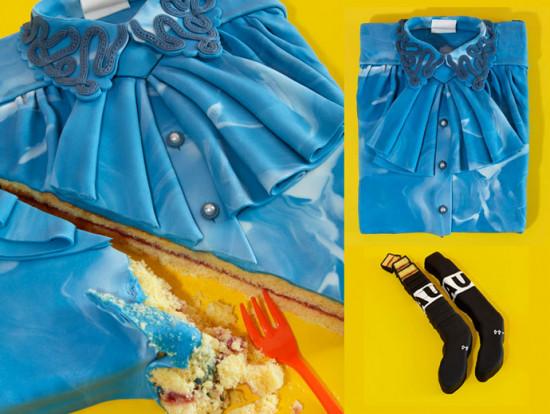 Amantes da moda até na hora de escolher o bolo de aniversário! Vem ver mais!