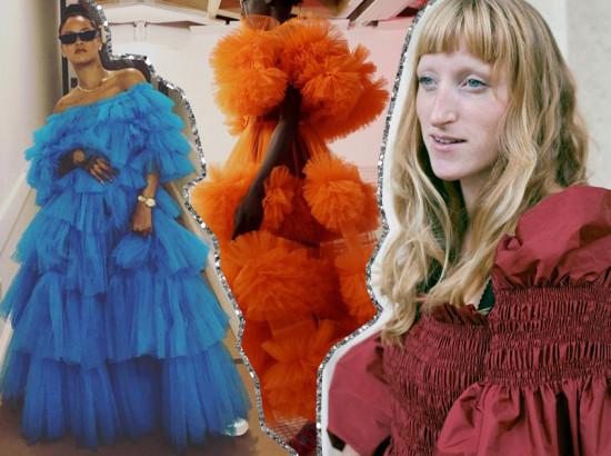 Amor de tule: conheça o trabalho da Molly Goddard, clica pra ver!