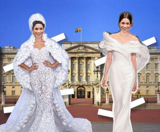 Como será o vestido de noiva da Meghan Markle? Clica na foto pra ver mais!