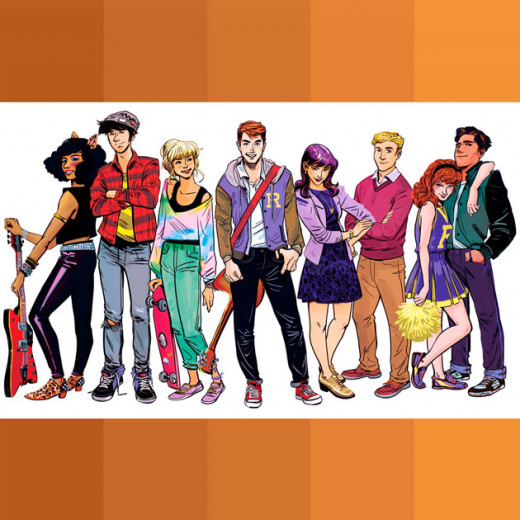 """A série """"Riverdale"""" foi inspirada pela HQ """"Archie Comics"""" - o primeiro título foi publicado em 1942!"""
