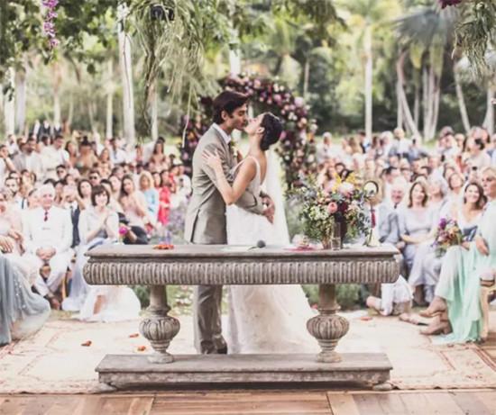 Cica pra ver mais do casamento de Ísis Valverde com André Rezende!