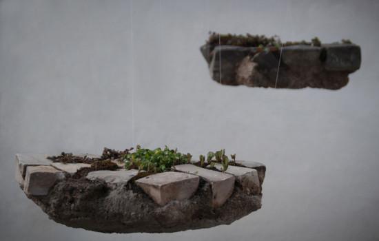 """Essa é uma das obras na Galeria Lume: """"Jardins Suspensos""""! Vem ver mais!"""