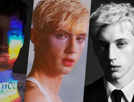 23 anos, youtuber, influencer, cantor, gay, usa make e arrasa! Vem conferir o raio-x de estilo do Troye Sivan!