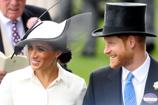 Clica aqui pra ver o look completo da duquesa de Sussex!