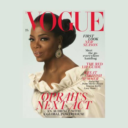 """A apresentadora é capa da """"Vogue"""" UK - clica pra ver mais!"""